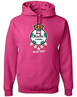 Santos Laguna Mexico Hooded Hoodie Hoody Sudadera with Free Custom Text(Optional)