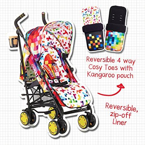 Cosatto Supa Stroller, Pixelate by Cosatto (Image #8)