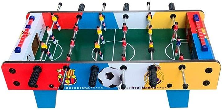Fanvone Mesa de futbolín De Mesa Mesa de futbolín de Mesa Compacto ...