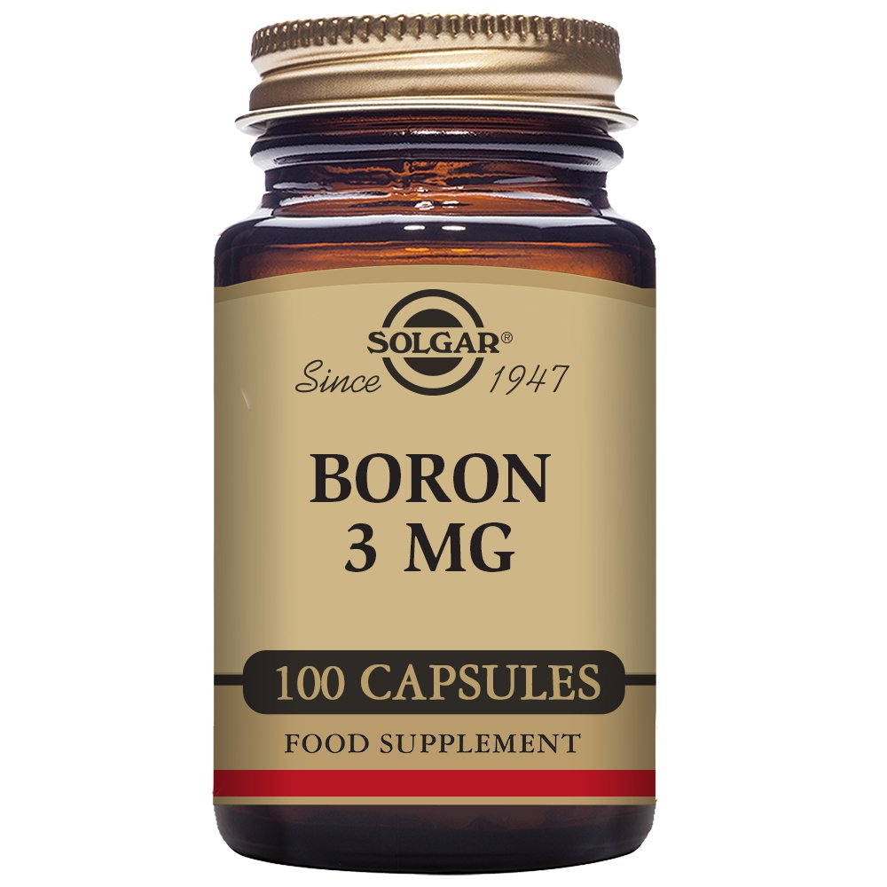 Solgar Boron Multi-Chelated - 100 Cápsulas: Amazon.es: Salud y cuidado personal