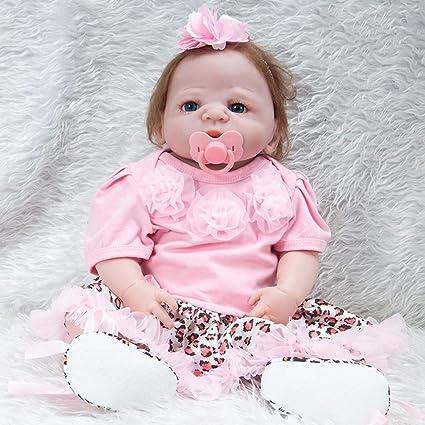 Reborn Baby Doll 57 cm 22 Pulgadas Encantadora Realista ...