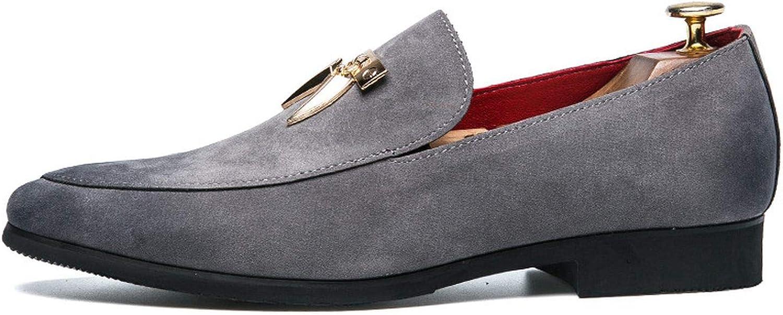 Tassel Formal Leather Men Shoes Italian Slip on Footwear Cool Oxford Shoes for Men