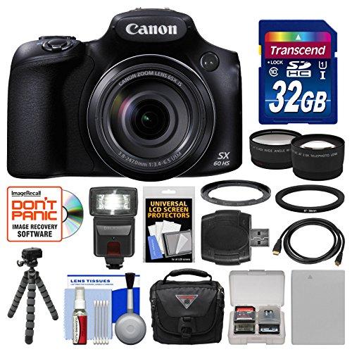 canon-powershot-sx60-hs-wi-fi-digital-camera-with-32gb-card-case-flash-battery-tripod-tele-wide-lens