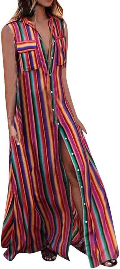 Geilisungren Faldas Larga Mujer Fiesta Elegante Moda Vestidos ...