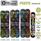 15-16 GRAY グレイスノーボード PEEPS