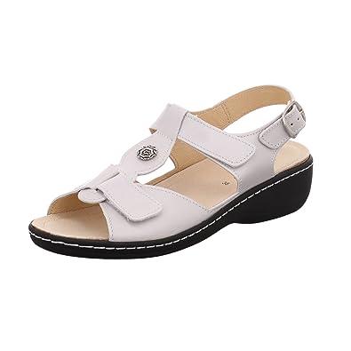 LONGO Damen Sandaletten 1008918 1008918 Weiß 306835