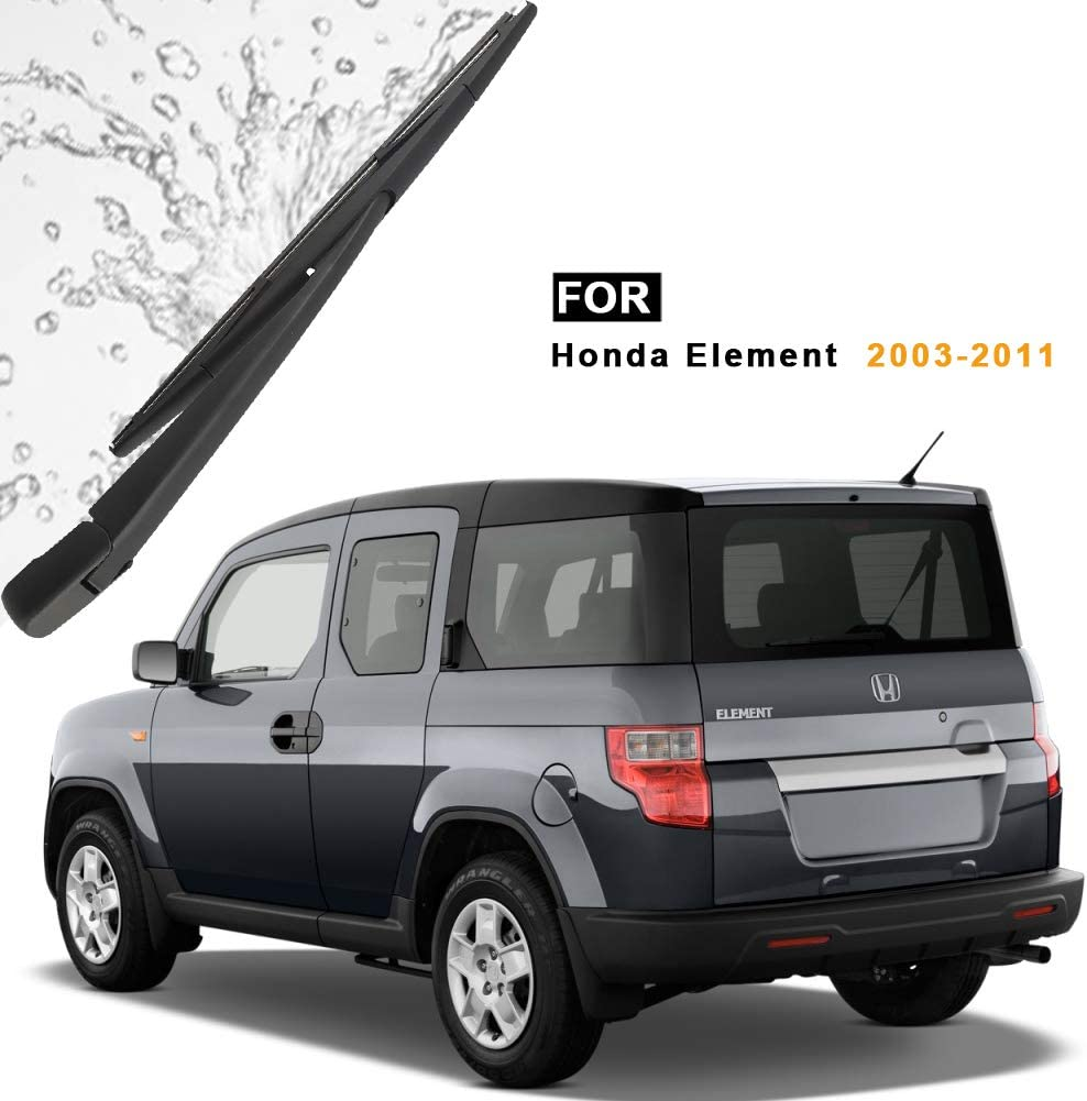 Automotive Wipers Rear Windshield Back Wiper Arm with Blade Set ...