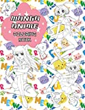 Manga Anime Coloring Book: Coloring Book with