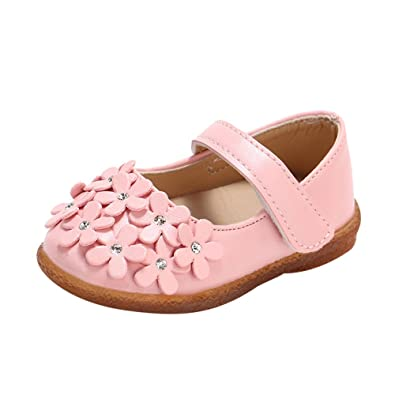 185d937d892a5 子供靴 Plojuxi ガールズシューズ フォーマルシューズ 女の子 フラワー飾り ドレスシューズ キッズ ガールズ ベビー 幼児