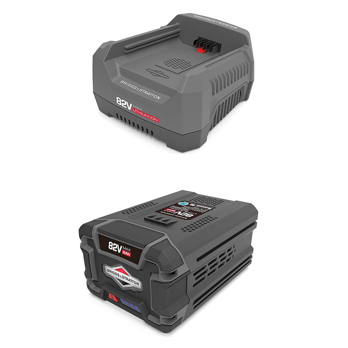Snapper 82V Rapid Battery Charger + 82V Battery for Snapper XD Cordless Tools