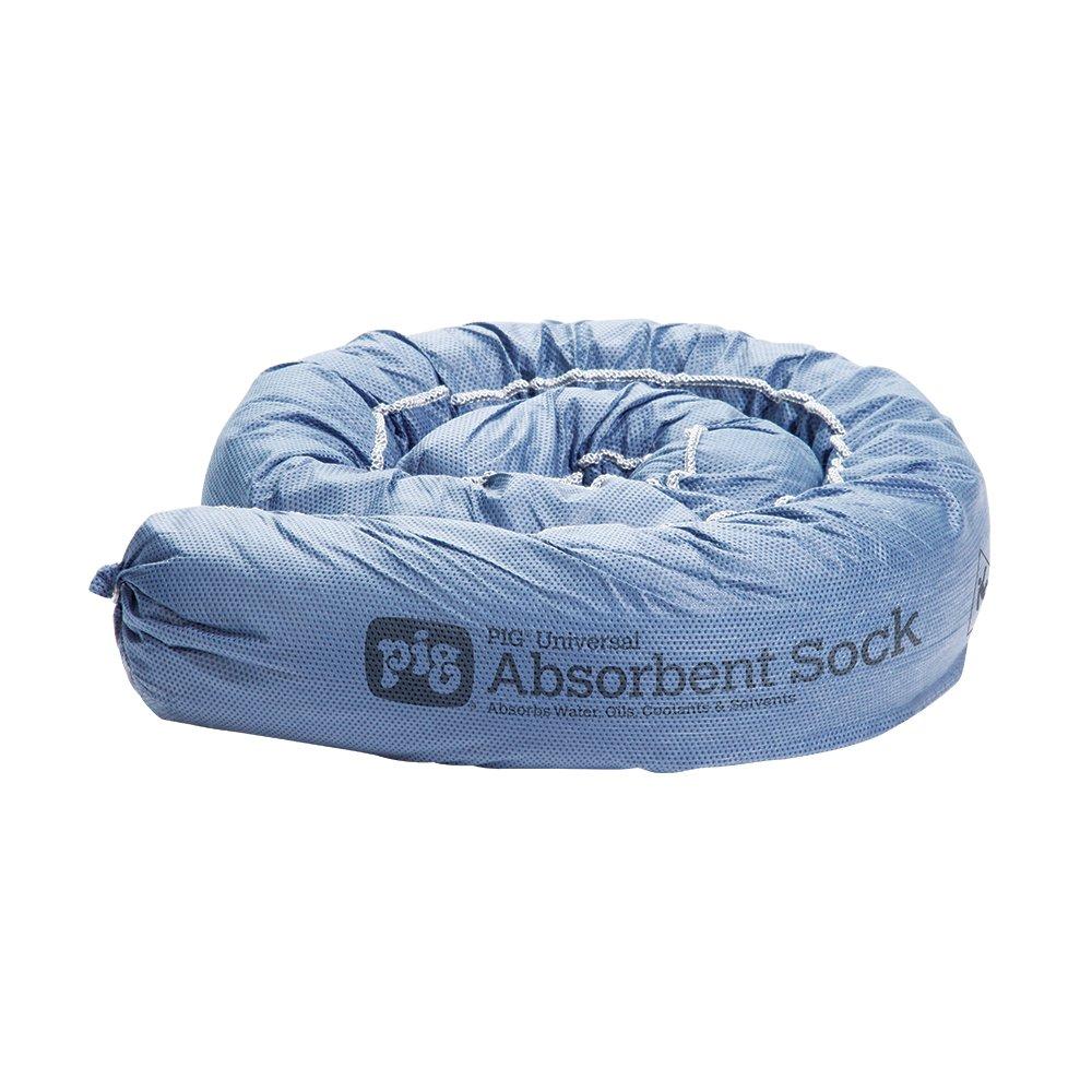 New Pig PM50124 Reusable Condo Sliding Door Mildew Resistant Hurricane Socks, 2 Pack, Blue