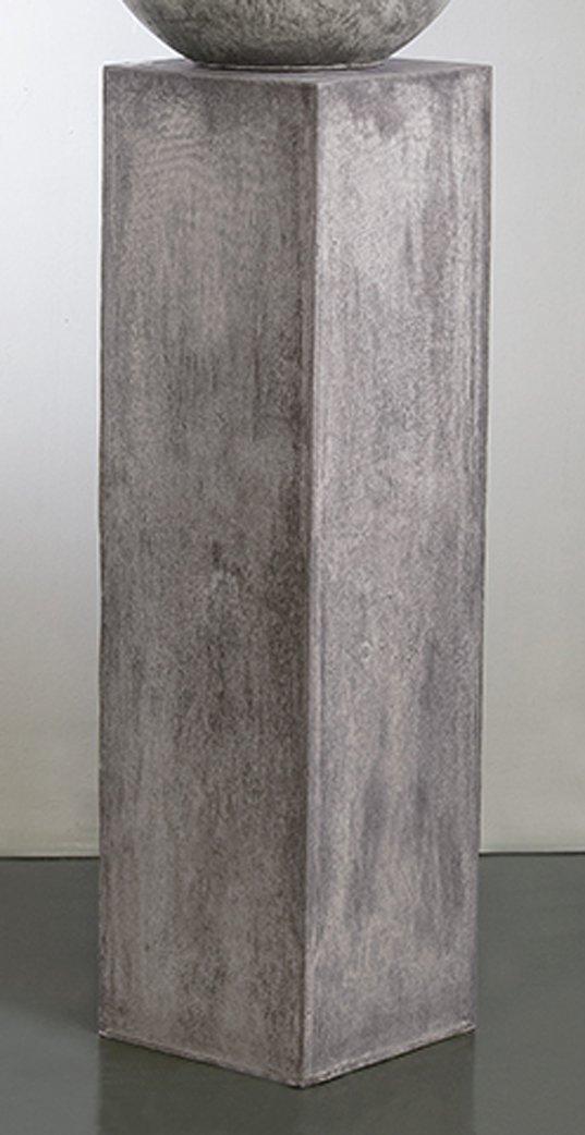 Säule Flores Magnesia Grau Grau Magnesia B28cm H100cm 647025