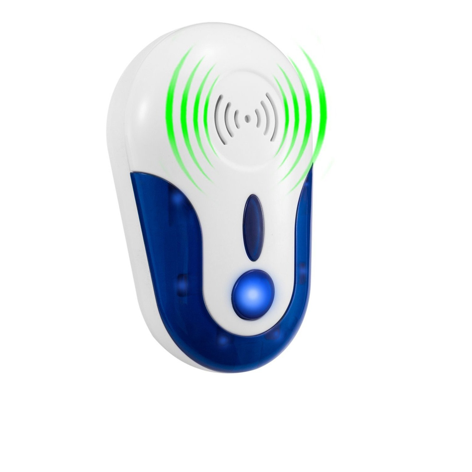 MAZU Ultrasonic Pest Repeller by SAFE for Children and Pets -Non-toxic& Environmental Friendly- Quickly eliminates flies, cockroaches, spiders, fleas, mice, rats, and other pests (1)