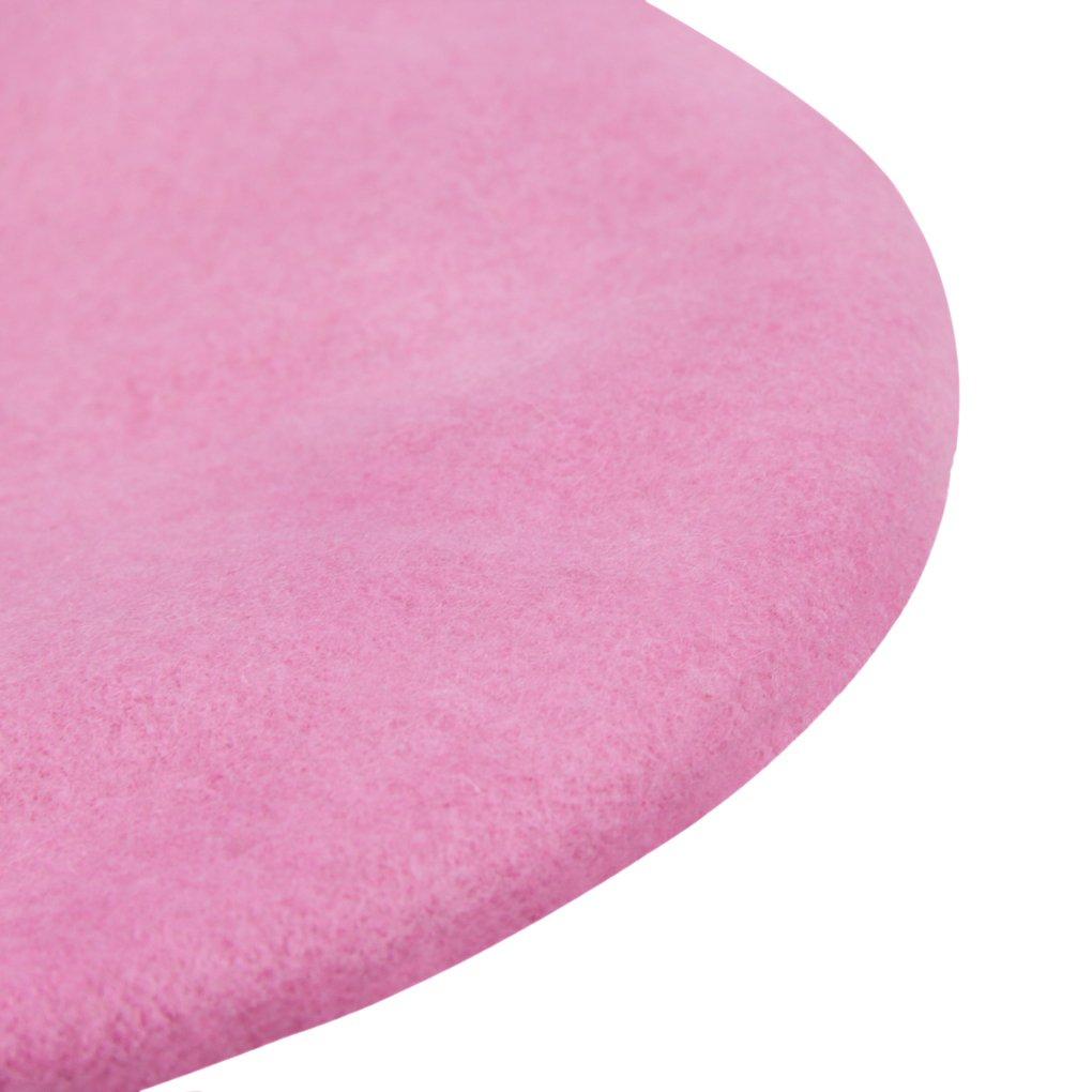 a7aa1dd733ff7 ... Kids Girls Boys 100% Wool French Dome Beret Hat Flat Cap Winter Autumn  Fancy Dress ...