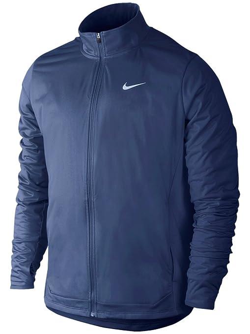 meilleure qualité vente la moins chère date de sortie Nike Shield Veste Sport Unisexe XL Bleu (Bleu Marine Minuit ...
