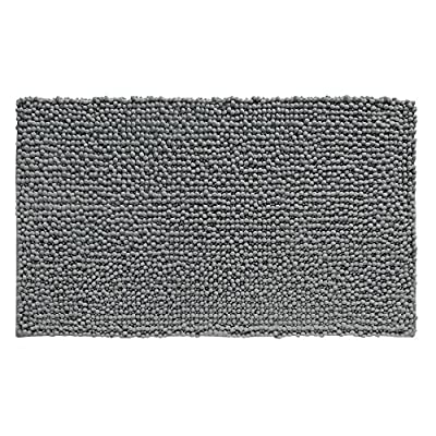 InterDesign Microfiber Frizz Bath Rug -  - bathroom-linens, bathroom, bath-mats - 61LhmMIvSAL. SS400  -