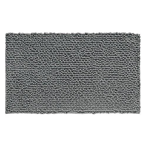 61LhmMIvSAL - InterDesign Microfiber Frizz Bath Rug