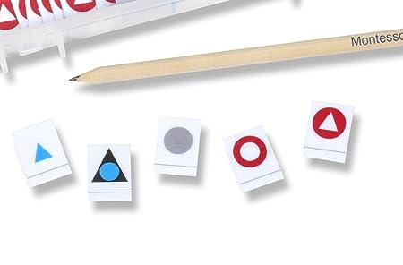 montessori de palabra de símbolos, espátula profesional, 14 Palabra tipos, 280 símbolos: Amazon.es: Oficina y papelería