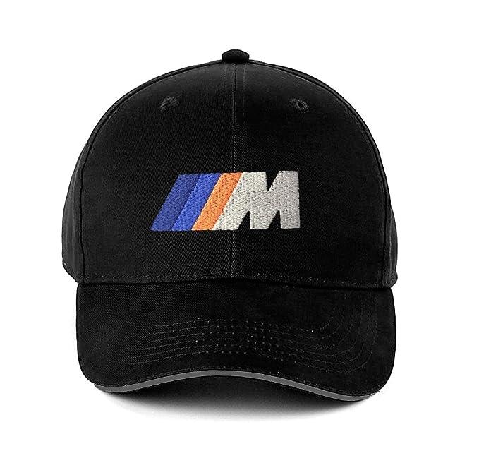 BMW M-Power, Performance, Sport, Gorra de béisbol, 6 Paneles, Sombrero de algodón Cepillado. Negro: Amazon.es: Ropa y accesorios