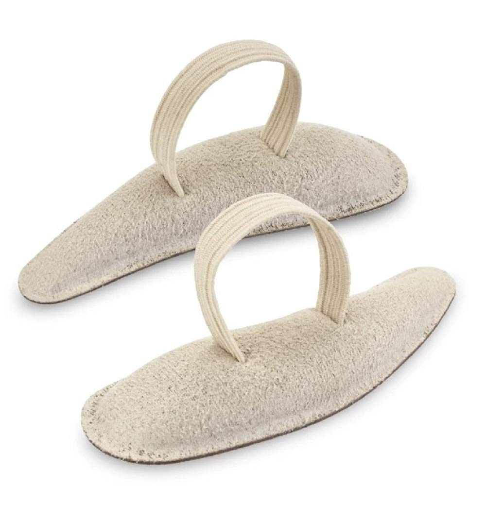 Deluxe Suede Hammer Toe Crest, Medium, Left by Silipos