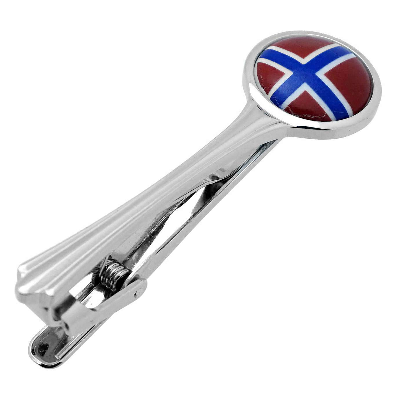 Tie Clips Norway Flag