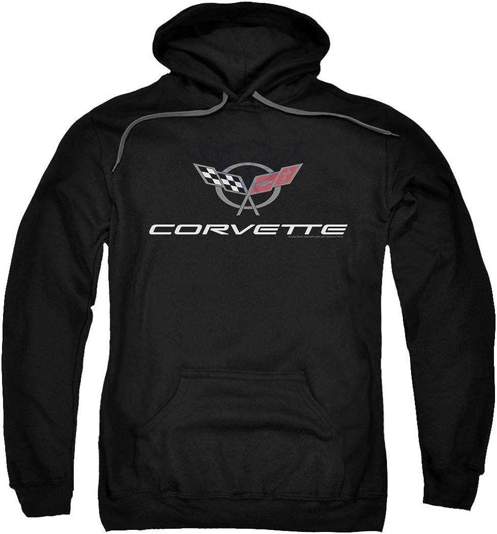 Chevy Corvette Chevrolet Vintage GM Logo Pullover Hoodie Sweatshirt & Stickers