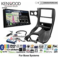 Volunteer Audio Kenwood Excelon DNX994S Double Din Radio Install Kit with GPS Navigation Apple CarPlay Android Auto Fits 1997-2004 Corvette (With Bose)