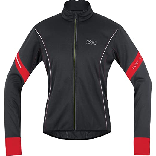 Gore Bike Wear Power 2.0 Windstopper Soft Shell Cycling Jacket