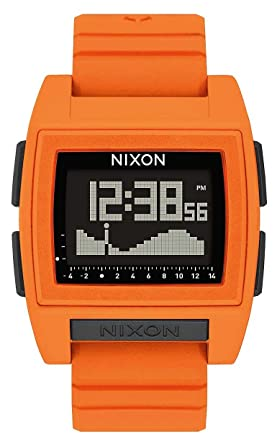 Nixon Base Tide Pro Watch - Orange