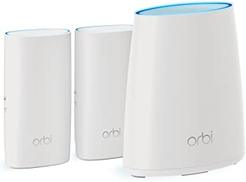 3-Pk. Netgear Orbi Wall-Plug Whole Home Mesh WiFi System
