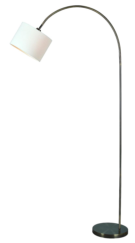 Kenroy Home Archer Arc Floor Lamp Brass