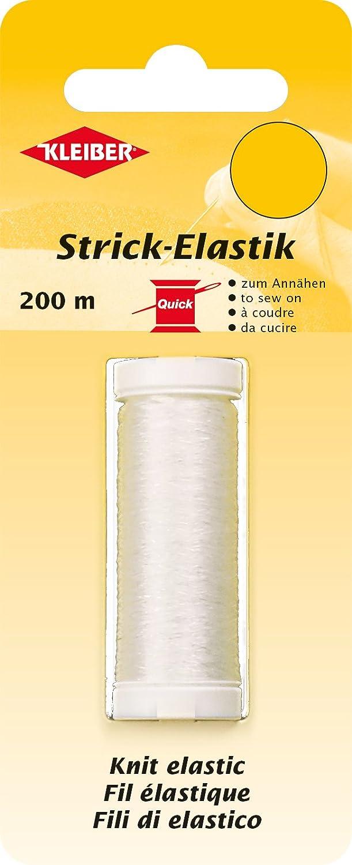 Kleiber 71090filo elastico/Transparenter beilauf Strick, 100% elastomero, Trasparente, 20000x 0.011x 0.011cm 710-90