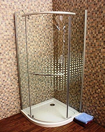 Cabina de ducha, mampara, cuarto círculo cristal de cabina se 014 ...