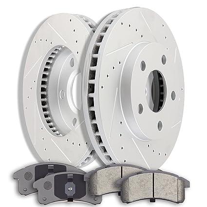 Brakes And Rotors >> Amazon Com Ocpty Brakes And Rotors Set With 2 Brake Disc