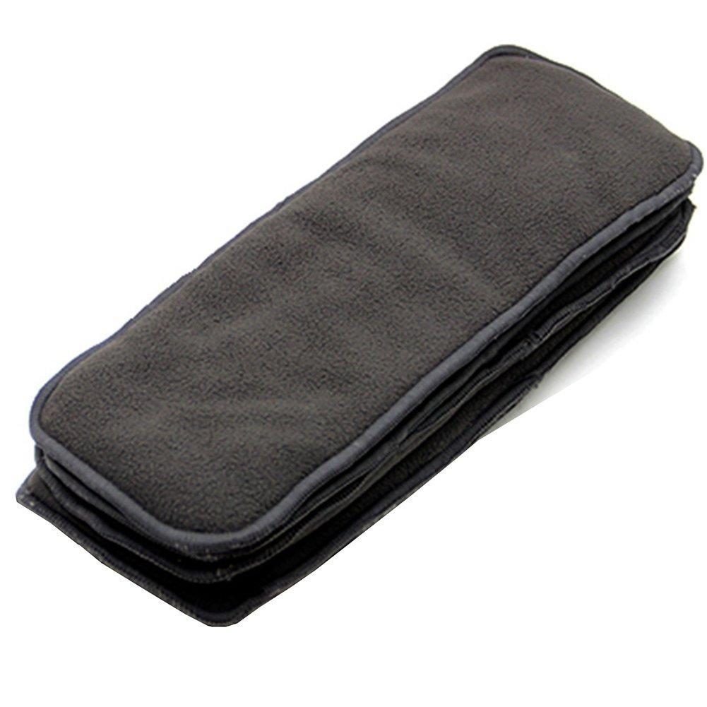 en microfibre de bambou inserts Sacs pour adultes couches en tissu couches pour incontinence Care, 4couches lavable réutilisable Grande absorbant Shenzhen M-Home Co. Ltd
