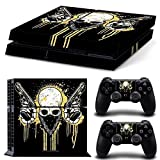CSBC Skins Sony PS4 Design Foils Faceplate Set - Outlaw Design