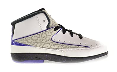 online retailer f9a17 b6f99 Jordan 2 Retro BT Baby Toddlers Shoes White Dark Concord-Black-Wolf Grey