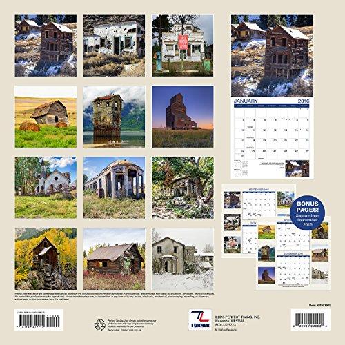 Turner Abandoned Buildings 2016 Wall Calendar (8940001) Photo #3