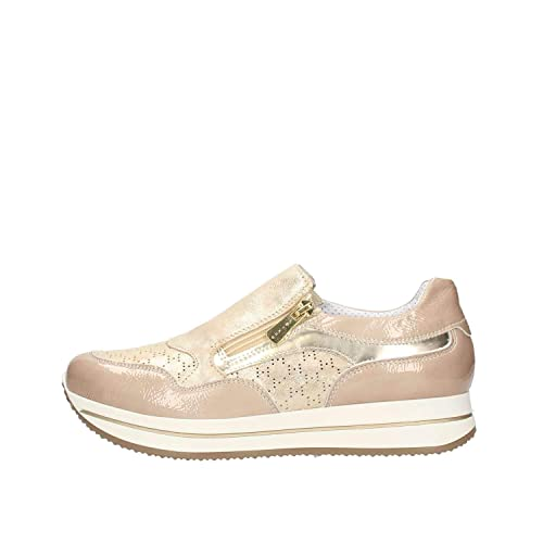best website 301a8 8c6b1 IGI&CO Scarpe Donna Sneakers Bassa 3159222 Beige: Amazon.it ...