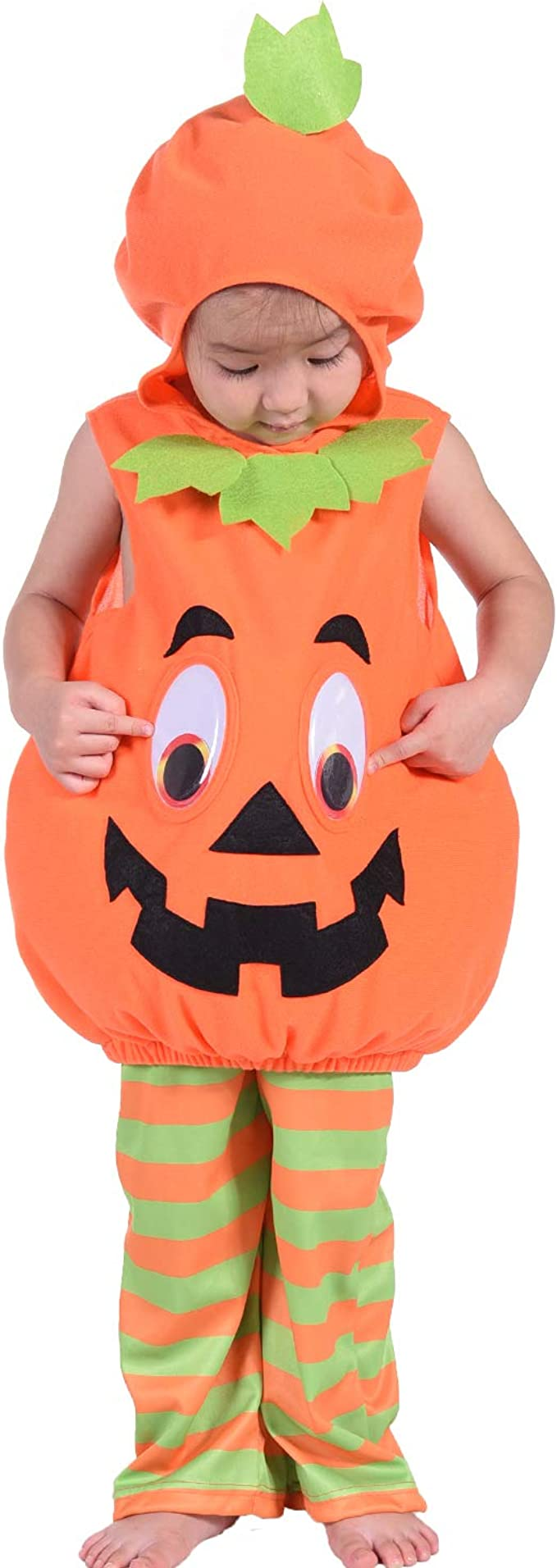 Toddler Jack O Lantern Costumes