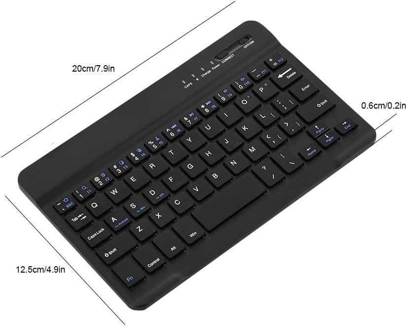 iOS /& Android CiCiglow Bluetooth Keyboard Mini Wireless Bluetooth Keyboard for Windows