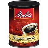 Melitta French Vanilla Flavored Coffee, Medium Roast, Extra Fine Grind, 11 Ounce Can