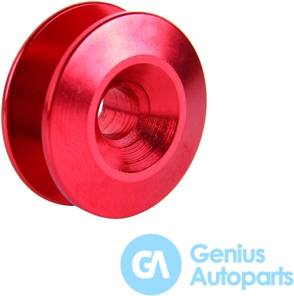 pare-chocs arri/ère et coffre Genius Autoparts Attaches rapides en aluminium pour pare-chocs avant