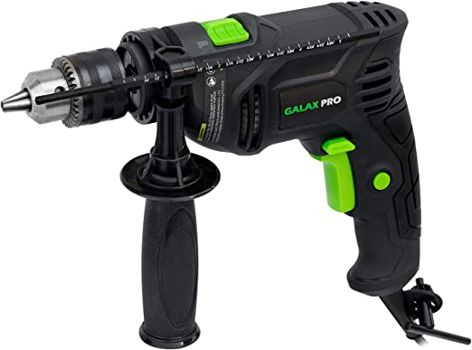 "wit 3,000 RPM Forward and Reverse 500 Watt Motor Electric Drill 3//8/"" Chuck"