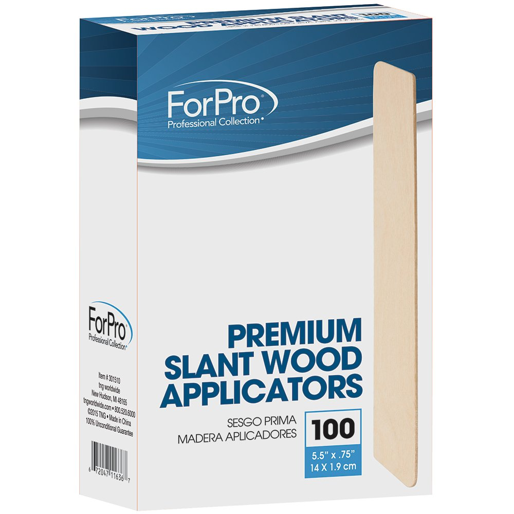For Pro Premium Slant Wood Applicators, 100 Count
