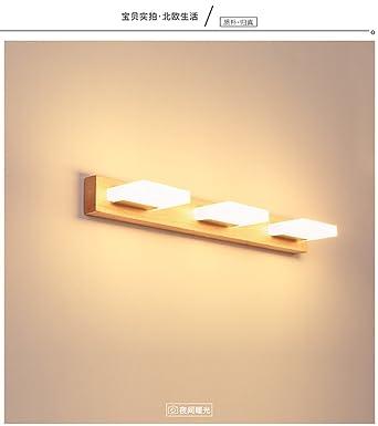 Vintage Wandleuchte Wandlampen Wandleuchte Die Modernen Holz   Spiegelschrank Wandleuchten Schlafzimmer Ankleidezimmer Wandleuchten Vanity  Badezimmer Spiegel