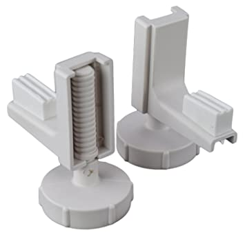 Fine Linton Raised Toilet Seat Spare Brackets Pair New Type Ncnpc Chair Design For Home Ncnpcorg