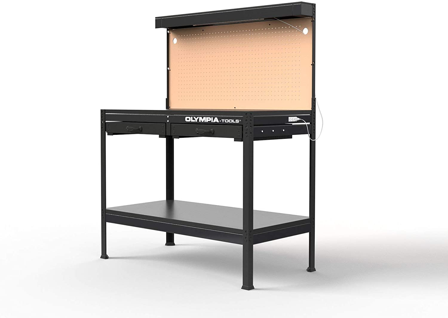 Olympia Tools Multipurpose Workbench With Light, 87-883-917