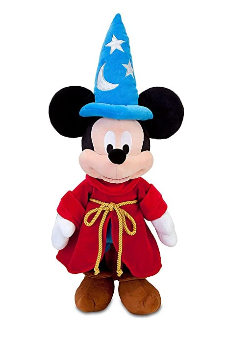 a0404b86afa Image Unavailable. Image not available for. Color  Disney Fantasia Sorcerer  Mickey Mouse Plush ...