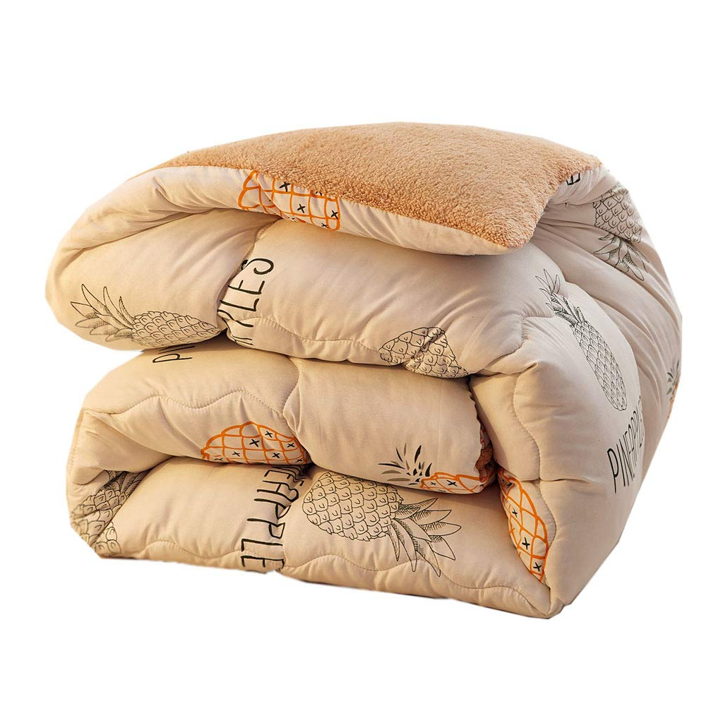 大割引 先進的な厚めの柔らかい保温暖かい二重の秋と冬のキルトのコアベッドルームのホステルのベッドライニング (色 : ライトブルー, サイズ 220×240cm(4kg) さいず : サイズ 150×200cm(2.5kg)) B07MBRMWNY ライトブルー, 220×240cm(4kg)|イエロー いえろ゜ イエロー いえろ゜ 220×240cm(4kg), マツモトキヨシ アネックス:5aa7be68 --- itourtk.ru